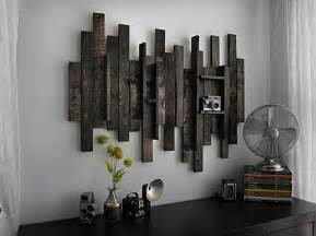 Art Decor For Home by Diy Wooden Pallet Wall Decor Recycled Things