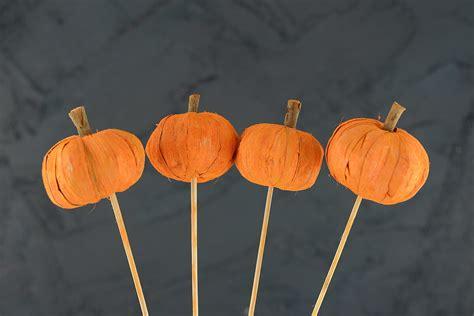 Bundling Bag Mini Ribbon 4 pumpkin picks 28 quot