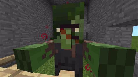 zombie villager tutorial minecraft pocket edition 0 12 1 update new zombie