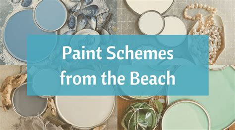 Kitchen Colour Ideas coastal paint color schemes inspired from the beach