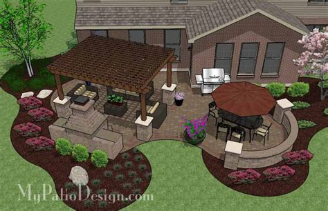 Patio Design Plans | cedar patio cover plans woodworking projects plans