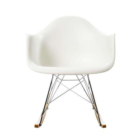 fauteuil eames bascule eames plastic armchair rar fauteuil 224 bascule vitra ambientedirect