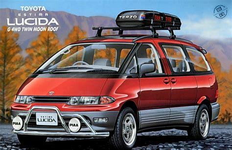Toyota Estima Roof Rack by Toyota Estima Lucida Tarago G 4wd With Roof Rack Rv22