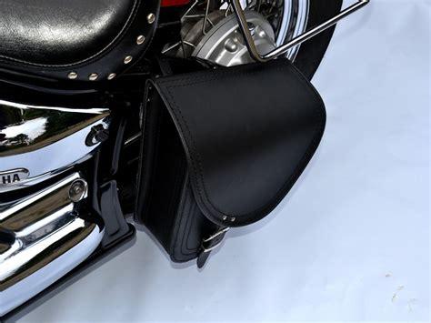 harley davidson swing arm saddle bag b2 leather swingarm single side pannier saddle bag harley