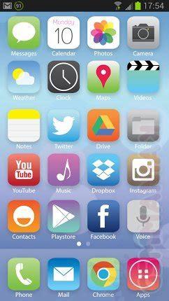z iphone na android efekt paralaksy i ikonki z ios 7 na androidzie gsmmaniak pl