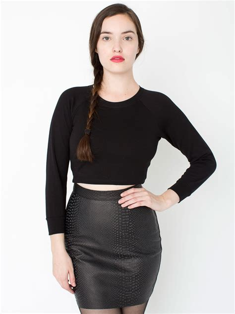 printed leather mini skirt american apparel