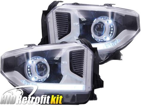 Projector Retrofit 14 17 toyota tundra hid retrofit projector headlights