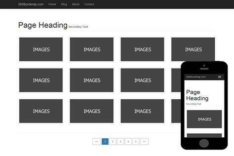 basic bootstrap themes free download 004 free basic bootstrap theme 365bootstrap