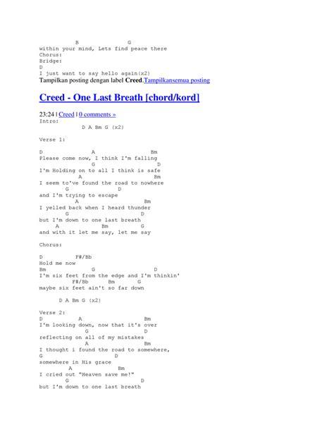 video tutorial gitar one last breath kunci gitar kunci a kunci b kunci c d e f g share the
