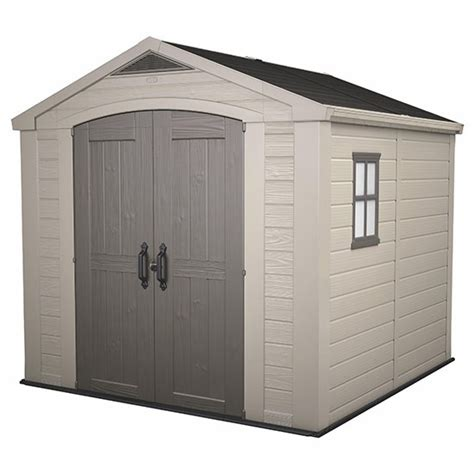 B And Q Plastic Garden Sheds by Keter Factor Shed From B Q Sheds Shopping