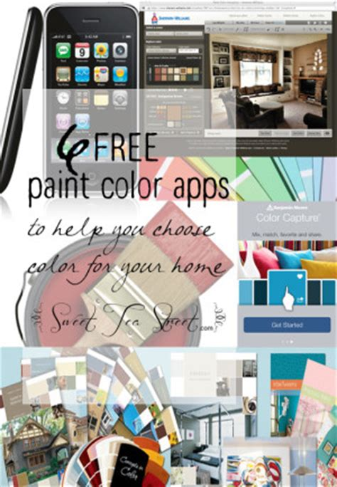 free paint apps to help you choose wall colors sweet tea
