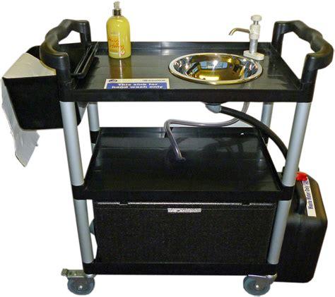 mobile wash sink unit portable sink handwash unit 23 lts mobile vphwu