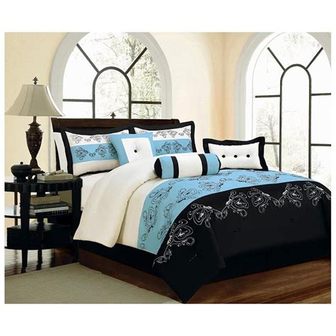 black and blue bedding sets home furniture design