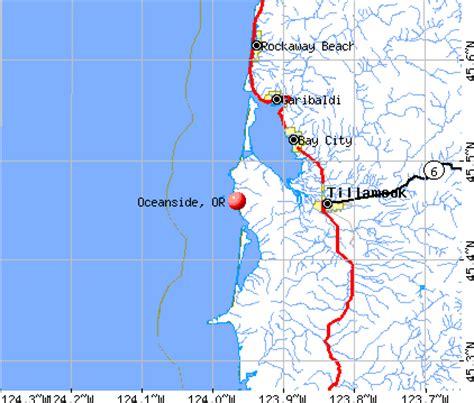 map of oceanside oregon oceanside oregon map oregon map