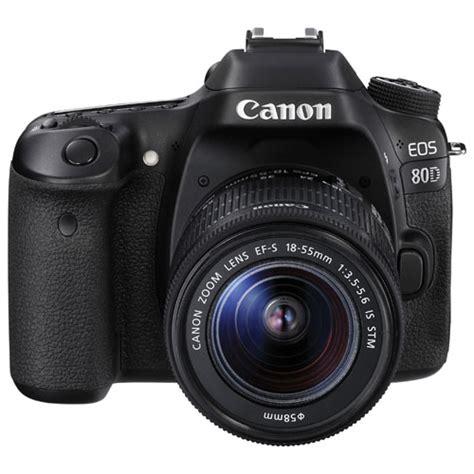 canon eos 80d 18 55 is stm hitam canon eos 80d dslr with 18 55mm is stm lens kit