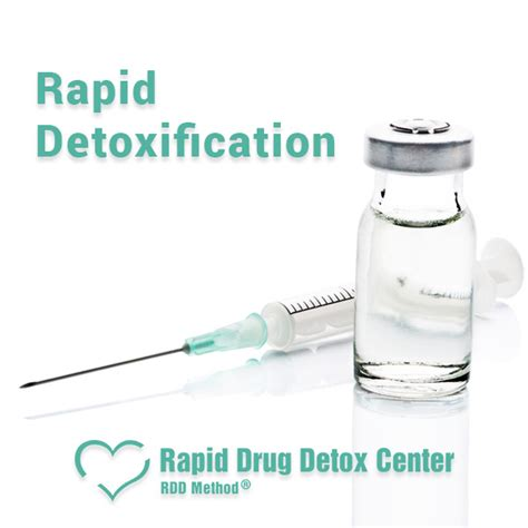 Rapid Detox by Rapid Detoxification Rdd Method 174