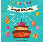 Birthday Vectors Photos And PSD S  Free Download