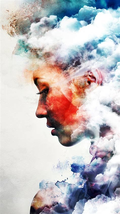 wallpapers   week abstract portraits