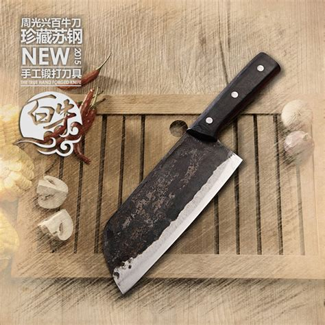 kitchen cutting knives high end hand forged clip steel slicing meat knife cooking