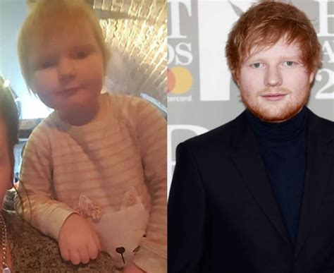 ed sheeran baby ed sheeran acknowledges baby doppelg 228 nger promises not to