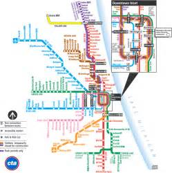 Chicago El Map Blue Line by It S My Mind Making A Record Of Traversing The Chicago L