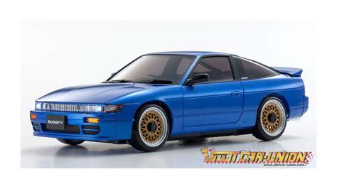 Mini Z Autoscale by Kyosho Autoscale Nissan Sileighty Blue Slot Car Union