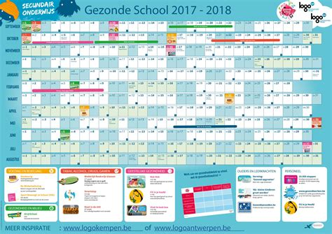 Kalender 2018 Feestdagen En Vakanties Kalender 2018 Schoolvakanties