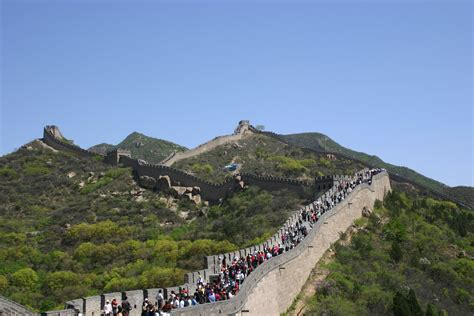 great wall badaling section top 15 fascinating facts about the great wall of china