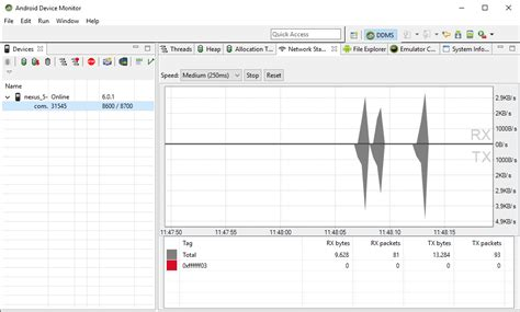 reset android studio reset network monitor stats in android studio 1 4 1