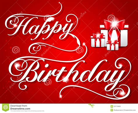design a happy birthday card happy birthday card design stock photos image 33770993
