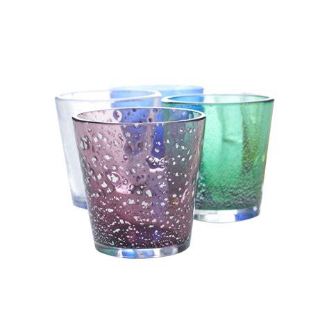 bicchieri in vetro di murano promemoria bicchiere in vetro di murano in sei colori