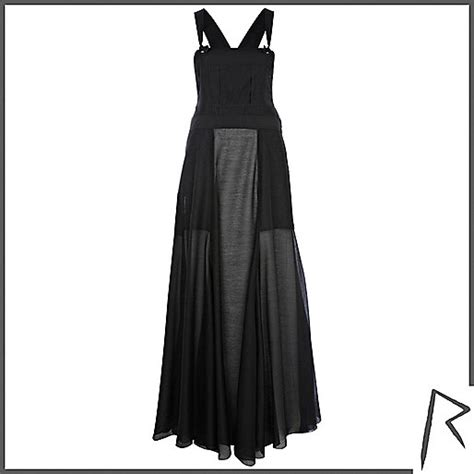 Bf6495 Maxi Overall Maxi Overall black rihanna sheer overall maxi dress dresses sale