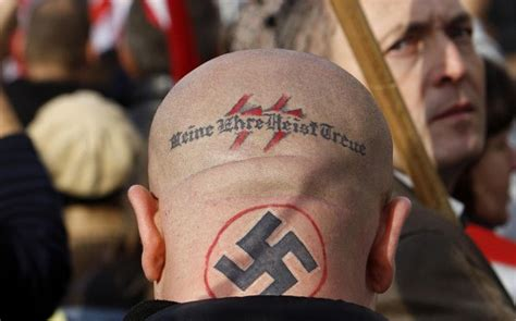tattoo anti islam 187 hungary has become a nazi country in europe once again