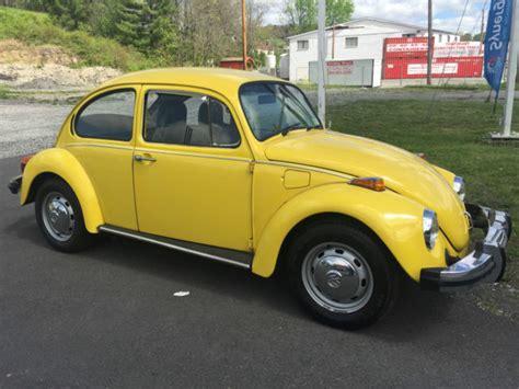 4 Door Volkswagen Beetle For Sale by 1975 Volkswagen Beetle Classic 2 Door For Sale