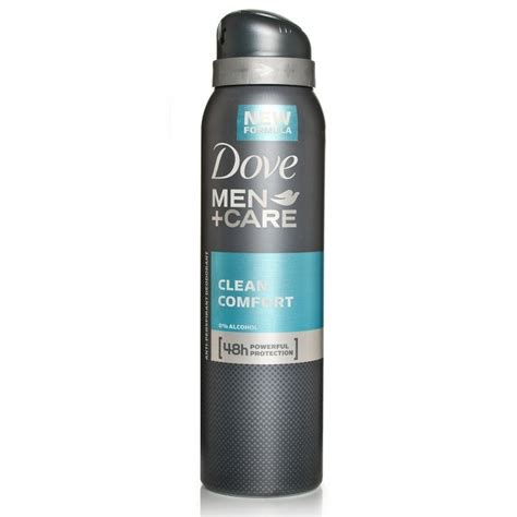 dove men care clean comfort dove men care clean comfort deodorant spray chemist direct