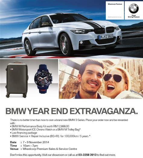 bmw malaysia new year promotion ad attractive deals for bmws at wheelcorp premium