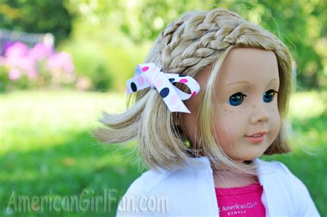 american girl hairstyles kit quick and easy back to school doll hairstyles