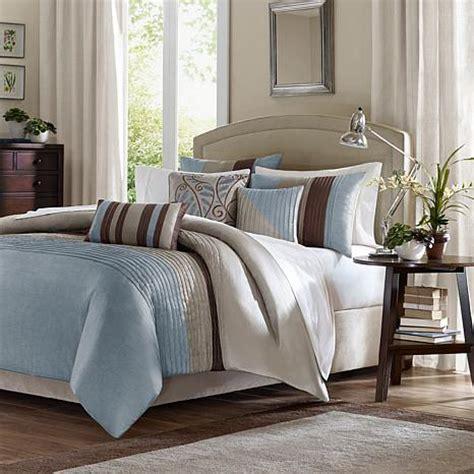 tradewinds 7 piece comforter set madison park tradewinds duvet set blue 10063825 hsn