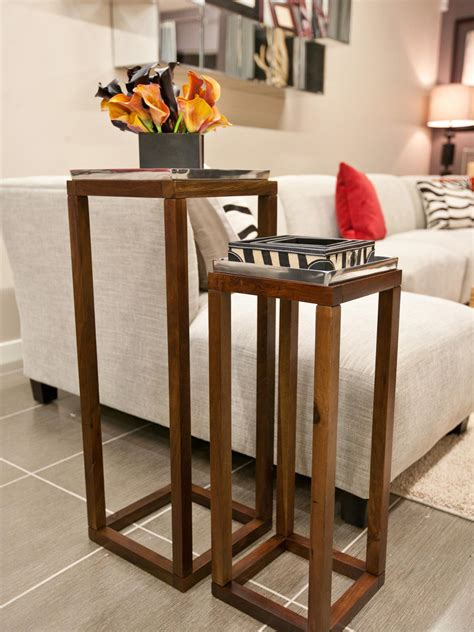 wood end tables best ideas about rustic end tables on