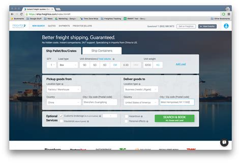 freightos launches freight rate calculator air cargo news