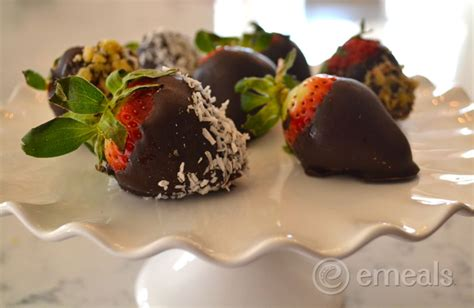 Dessert Chocolate Dipped Strawberries by 3 Ingredient Dessert Recipe Chocolate Covered