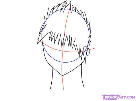 how to draw spiky anime hair how to draw spiky hair step by step anime hair anime