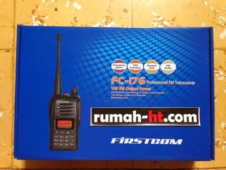 Ht Firstcom Fc 06 Single Band Vhf ht firstcom fc 176 single band vhf quot rumah ht quot jual handy talkie murah