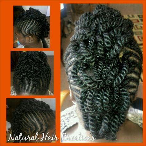 hair used for mohawk twists cornrows braids twists mohawk style natural hair