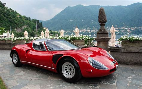 Alfa Romeo 33 Stradale For Sale Revisiting The 1967 Alfa Romeo Tipo 33 Stradale
