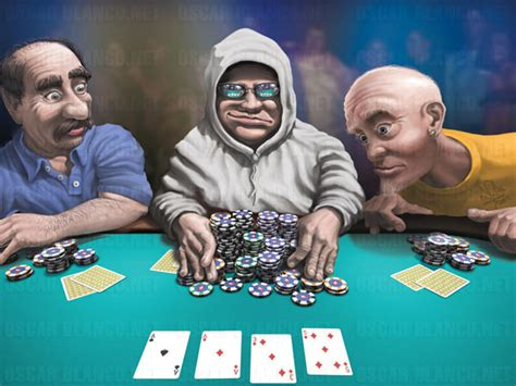 poker players  meet   table