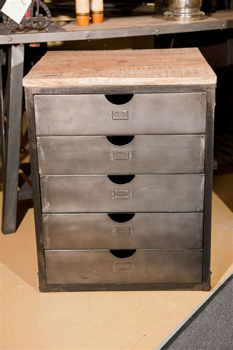industrial metal chest of drawers at 1stdibs