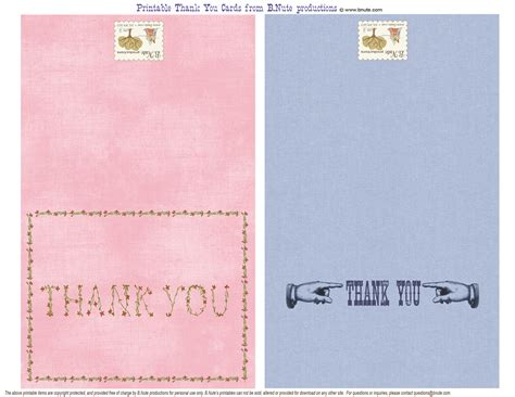 printable thank you cards free bnute productions free printable thank you cards for anytime