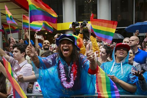 gay section of nyc millions take part in gay pride parades across the u s in