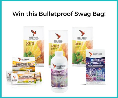 Win This Bag by Win 350 Of Bulletproof Products In Australia